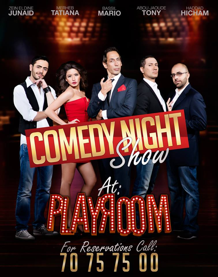 Comedy Night Show at Playroom