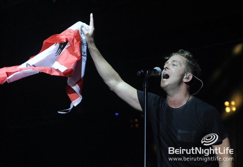 "OneRepublic a ""Stop and Stare"" Concert at Byblos Festival 2013"