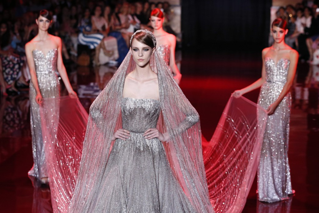 Elie Saab Wows with Royal Jewel-Inspired Couture Show at Paris Fashion Week 2013