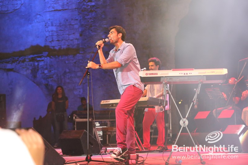 Awesome Adonis at Beirut Holidays 2013 on Sunday