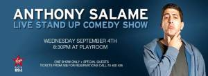 Anthony Salame Stand Up Comedy Show