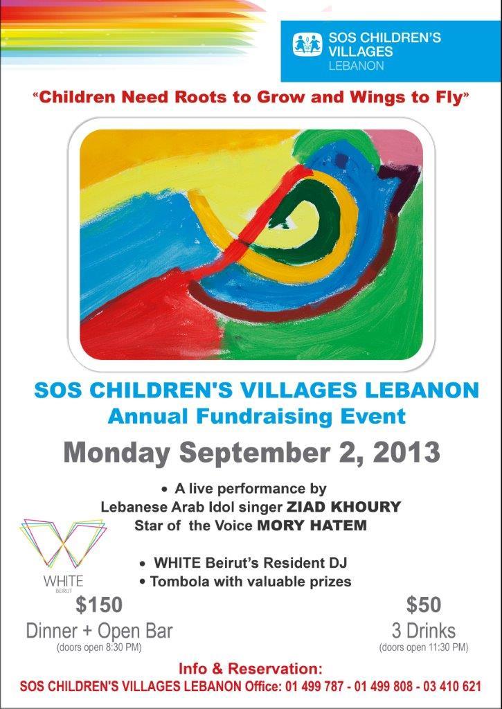 SOS Children's Villages Lebanon Annual fundraising event