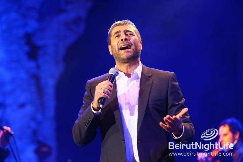Wael Kfoury dazzles at Beirut Holidays 2013
