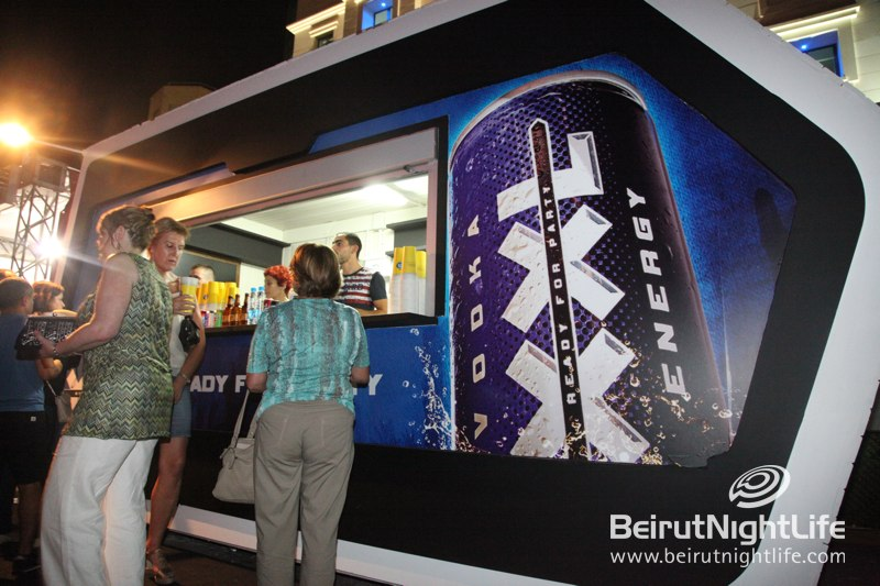 Refreshing and Energizing XXL Stand at Nancy Ajram Concert at Beirut Holidays