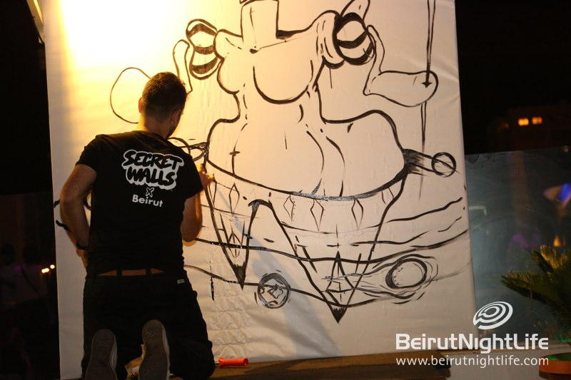 A Live Art Battle by Secret Walls X Beirut at Ora