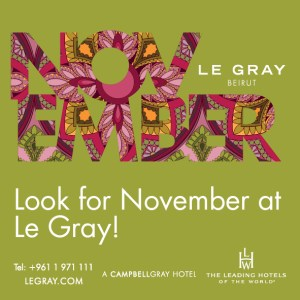 Try Something New in November at Le Gray