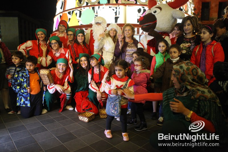 Launching of Beirut Souks Christmas Tree and Santa's Magical Village