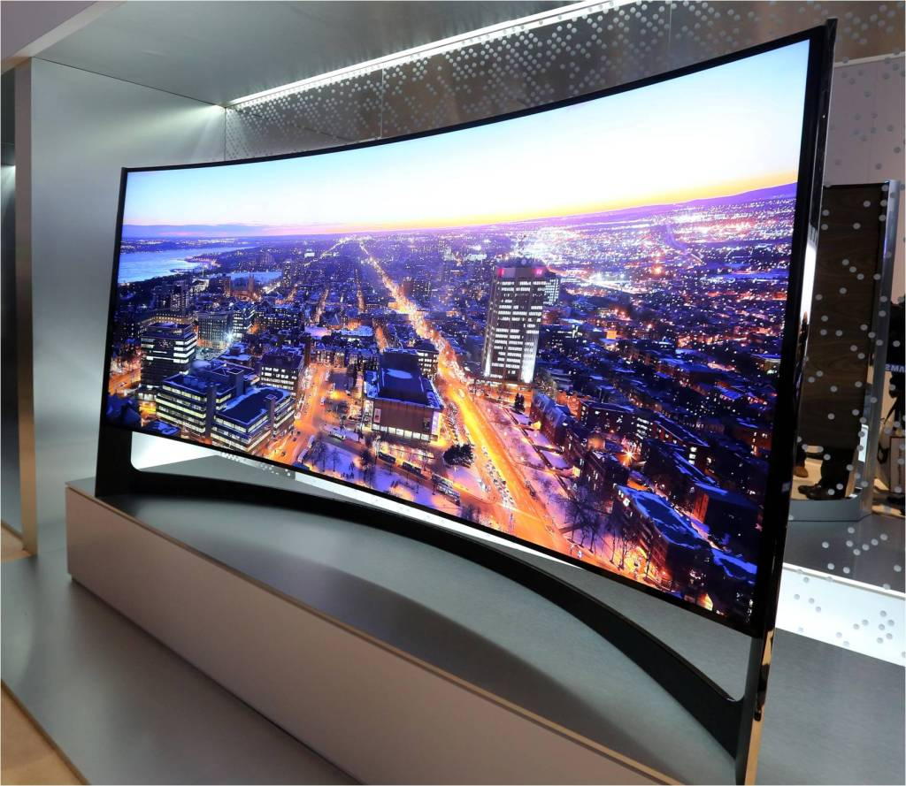 Samsung 105-inch Curved UHD and Bendable UHD to Market in 2014