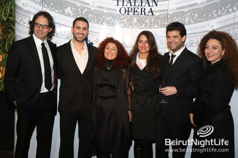 S.Pellegrino celebrates Luciano Pavarotti in Lebanon