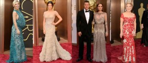 Lebanese Designer Gowns Dazzle at Oscars 2014