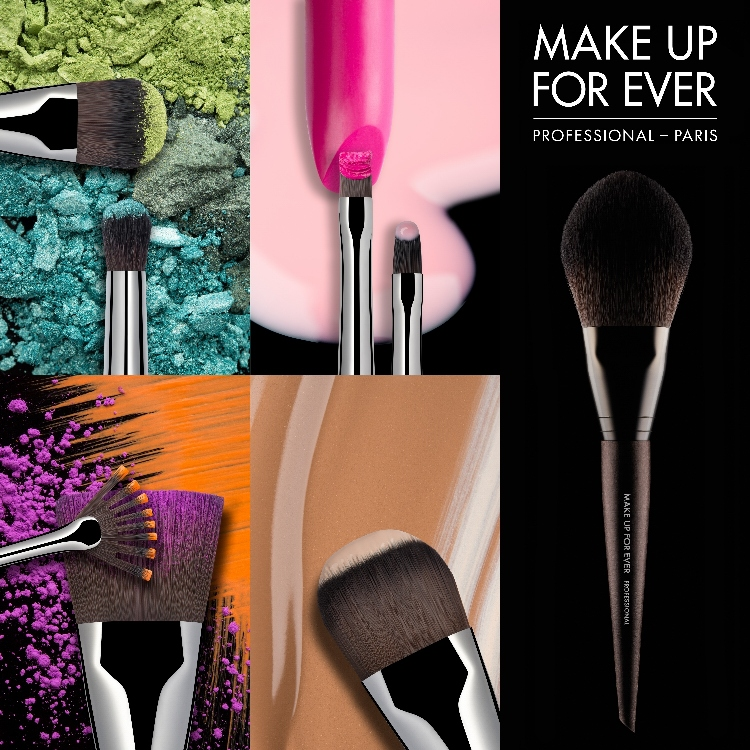MAKE UP FOR EVER INTRODUCES 76 STATE-OF-THE-ART BRUSHES