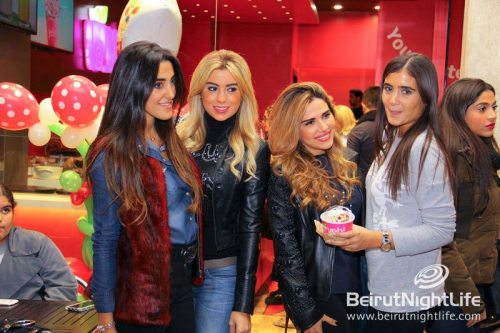 Opening of Yeh! Yogurt in Beirut