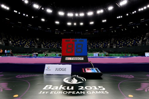 Tissot writes history as Official Timekeeper of the 1st European Games Baku 2015