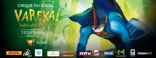 Win Free Tickets to See Varekai by Cirque Du Soleil Live in Beirut!