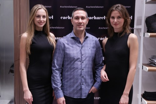 Cacharel MEN Celebrates in Style the Opening of its First Boutique in Lebanon