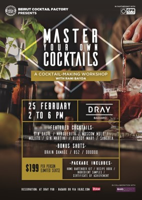 Master Your Own Cocktails