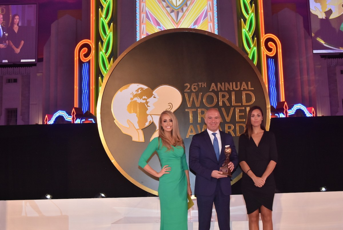 LE GRAY, BEIRUT RECEIVES THE WORLD TRAVEL AWARDS AS LEBANON'S LEADING LUXURY HOTEL