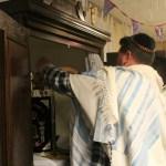 Torah lezing tijdens Simcha Torah