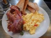 Lyxfrukost på hotellet