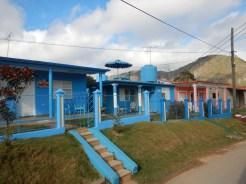 Färgglada hus i Viñales
