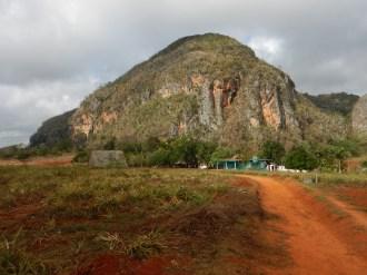 En liten kulle som vi rundade