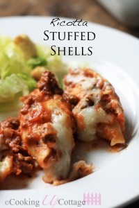 Stuffed Shells Dinner