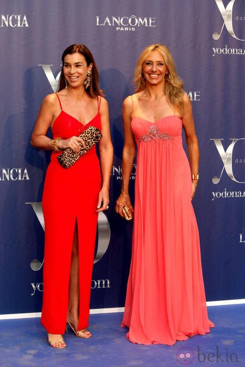 Carmen Posadas y Marta Robles en los Premios Yo Dona 2011
