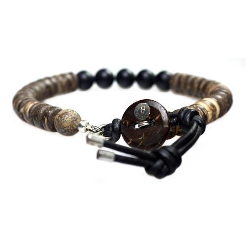 Armband Basic B8 – Onyx – Kokos