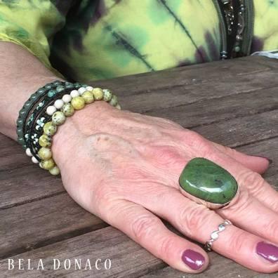 Bela Donaco Custom made ring en armbanden