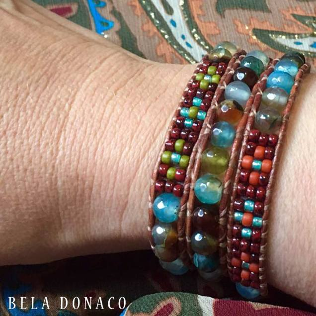 Wikkelarmband van Bela Donaco