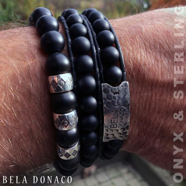 Prachtige combinatie Bela Donaco Luxury B10 armband en W12 wikkelarmband.
