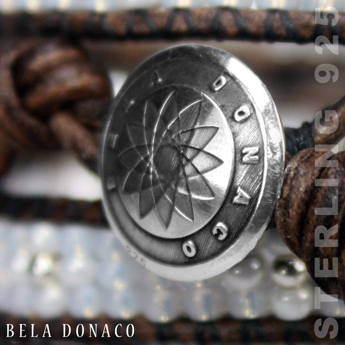 Authentieke Sterling Zilveren Bela Donaco knoop