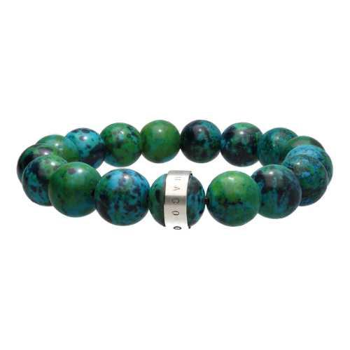 Armband Luxury B12 – Chrysocolla – Sterling Zilver