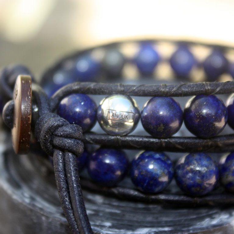 Armband met naamkraal Anouk