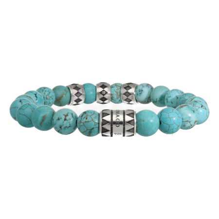 Armband Luxury B10 Turquoise Geoxideerd Sterling Zilver-5