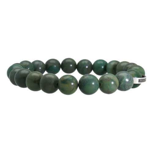 Armband Luxury B10 – Afrikaanse Jade – Sterling Zilver