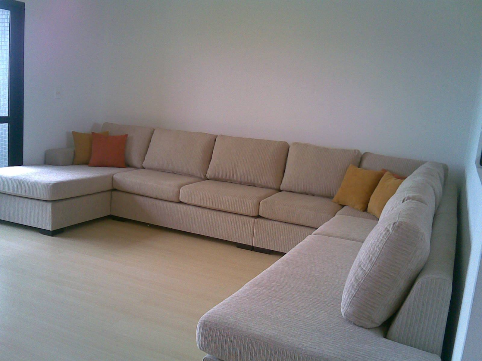 Sofa Chaise Retratil 4 Lugares
