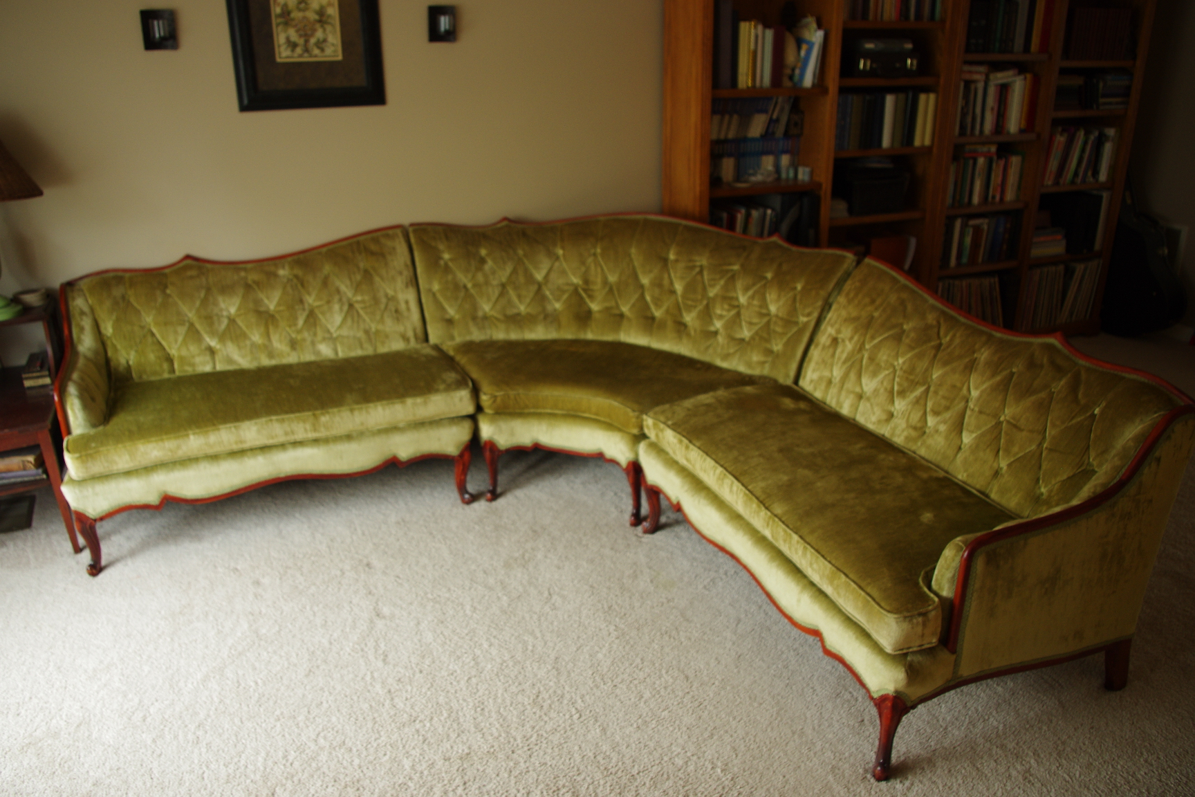 Classified Ads Vintage French Provincial Sectional Bel Air News : french provincial sectional sofa - Sectionals, Sofas & Couches