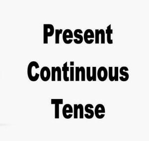 Pengertian,Rumus Dan Contoh Present Continuous Tense