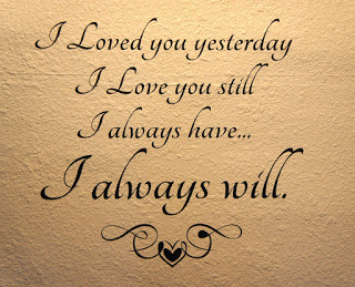 Love Quotes : i always love you
