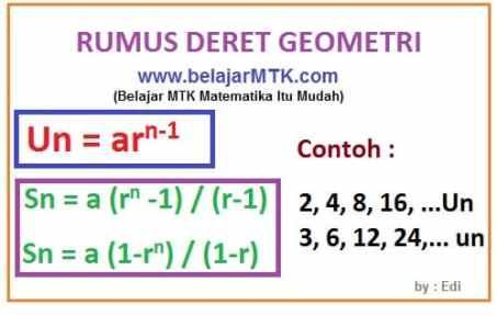 Deret Geometri