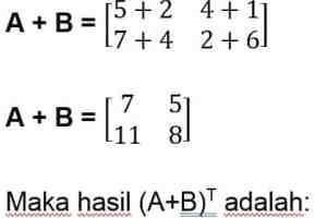 jawaban soal 3 transpose