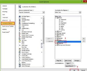 Menampilkan menu Developer 2