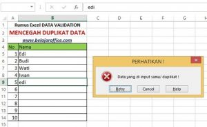 Duplikat data