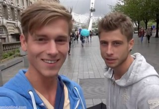 Kevin Warhol & Jack Harrer en week end à Londres