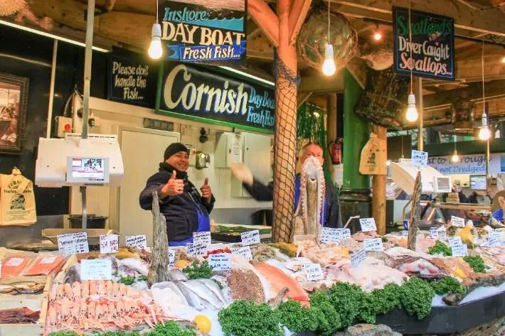 market, London, UK