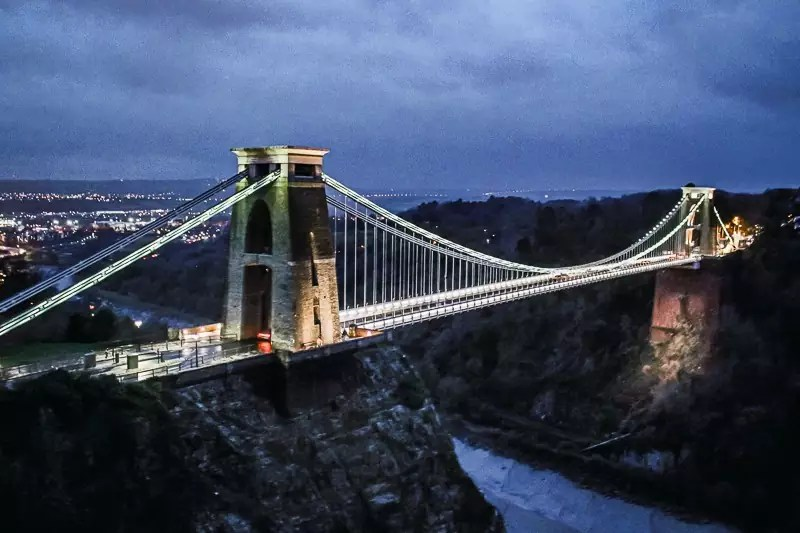 Clifton Suspension Bridge, Things to do in Bristol, UK England-6