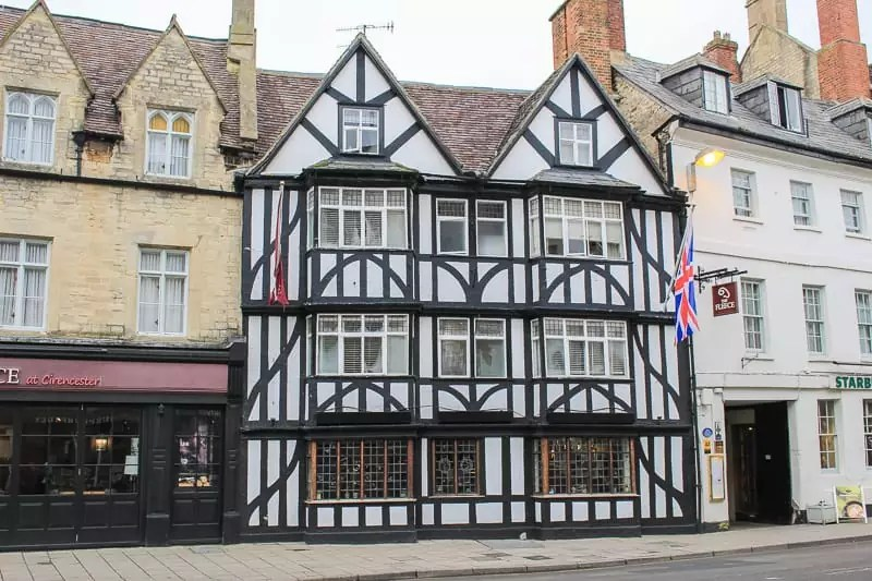 half-timbered house, Things to do in the Cotswolds, UK England-2