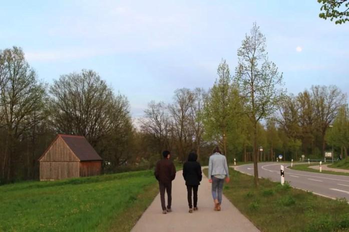 Georgensgmünd Germany stroll