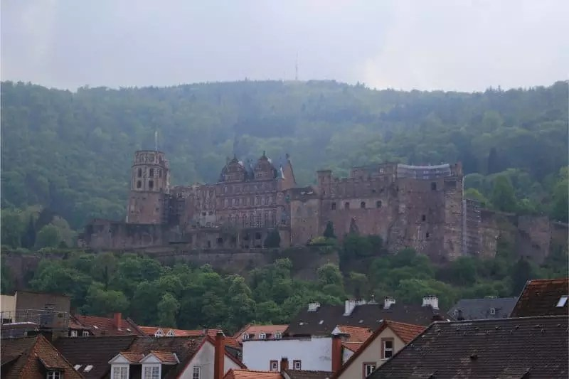 things to do in Heidelberg Germany castle